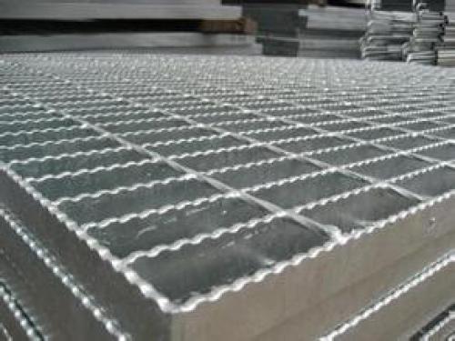 热浸锌防滑钢格板