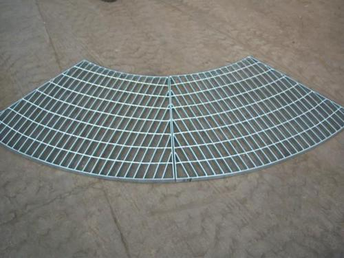 扇形钢格板