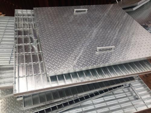 复合钢格板平台