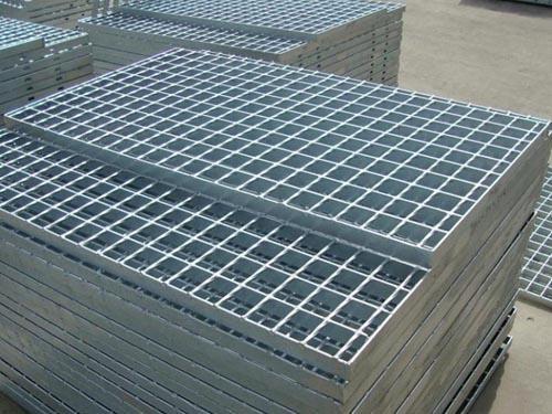 热浸锌平台钢格栅板