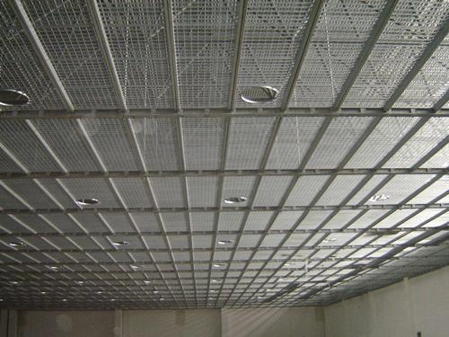 建筑吊顶钢格板