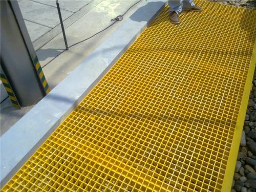 玻璃格栅盖板