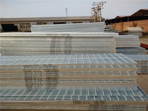 电厂格栅板平台