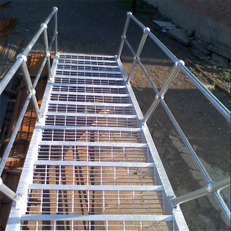 热镀锌钢格栅板踏步板