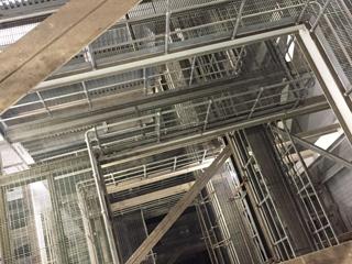 电厂平台钢格板案例