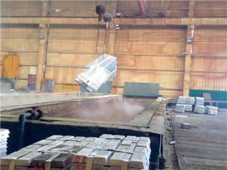 热镀锌钢格板处理