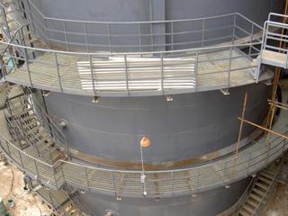 锅炉平台钢格板案例